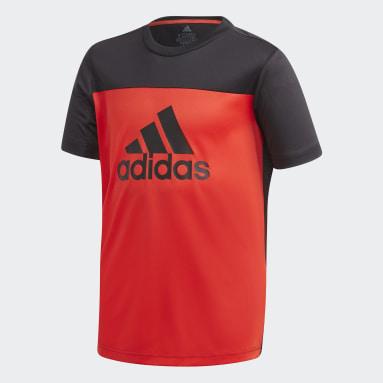 Jongens Fitness En Training Bordeaux Equipment T-shirt