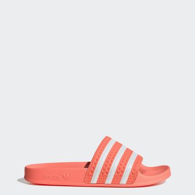 Women Originals Orange Adilette Slides