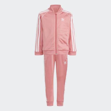 розовый Спортивный костюм Adicolor SST