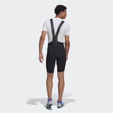 Men Cycling Black The Padded Adiventure Cycling Bib Shorts