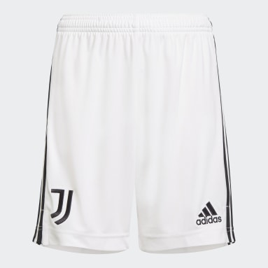 Shorts 1 Juventus 21/22 Branco Meninos Futebol