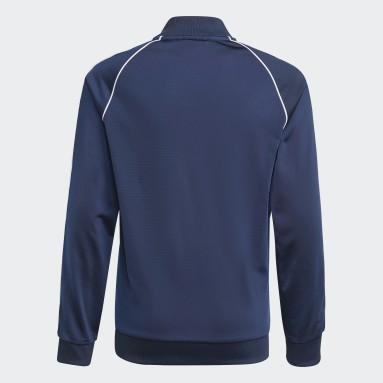 Kinderen Originals blauw Adicolor SST Trainingsjack