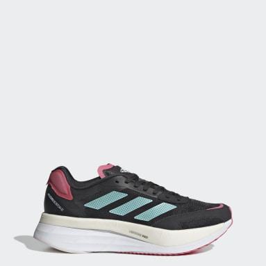 Zapatillas Adizero Boston 10 Plomo Mujer Running