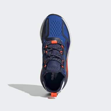 Youth 8-16 Years Originals Blue ZX 2K Boost Shoes