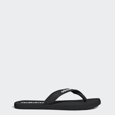 Swimming Black Eezay Flip-Flops