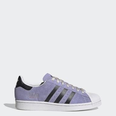 Originals Purple Superstar Shoes
