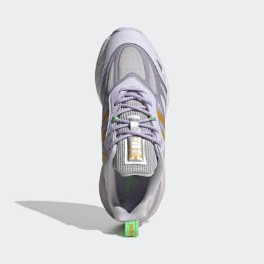 Women Originals Purple ZX 2K Boost 2.0 Shoes
