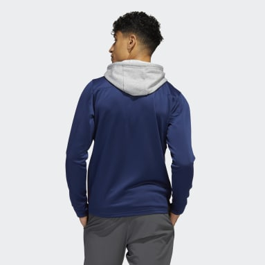 Men's Hockey Blue Avalanche Skate Lace Hoodie
