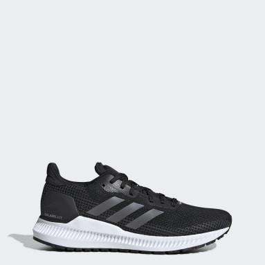 Women Running Black Solar Blaze Shoes