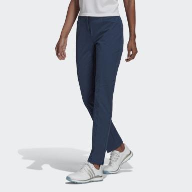 Ženy Golf modrá Kalhoty Primegreen COLD.RDY