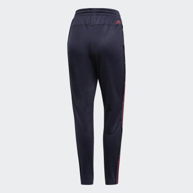 Women Sportswear Blue ID 3-Stripes Snap Joggers