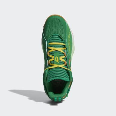 Zapatillas Dame 7 EXTPLY Verde Básquet