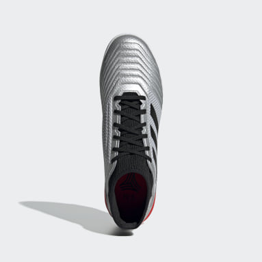 Calzado de Fútbol Predator TAN 19.3 Césped Artificial Plata Hombre Fútbol