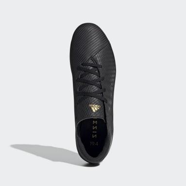 Men Football Black Nemeziz 19.4 Flexible Ground Boots