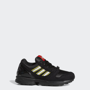 Youth Originals Black adidas ZX 8000 x LEGO® Shoes