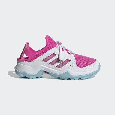 Children TERREX Pink Terrex Hydroterra Shandal Water Shoes