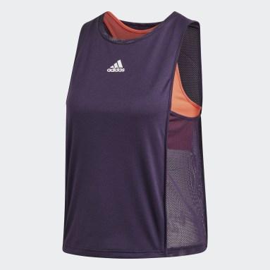 Women's Tennis Purple Escouade Tank Top