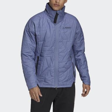 Men's Hiking Purple Terrex MYSHELTER PrimaLoft Parley Padded Jacket