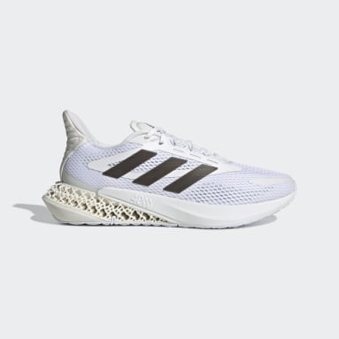 Kids Running White adidas 4DFWD Pulse Shoes