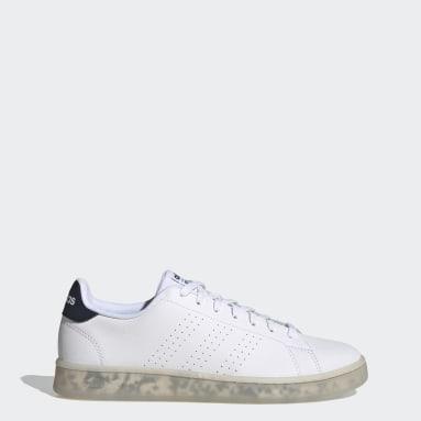 Men Sport Inspired White Advantage Eco Shoes