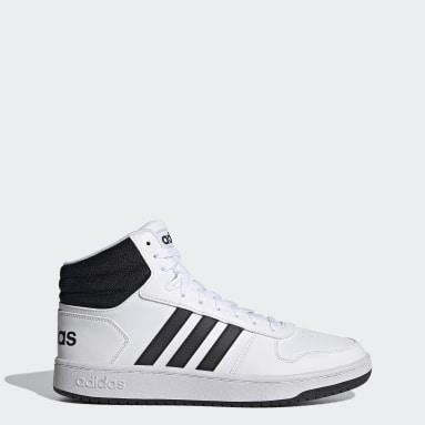 Sapatos Hoops 2.0 Mid Branco Homem Basquetebol