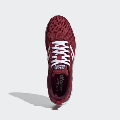 Women Walking Burgundy Lite Racer CLN Shoes