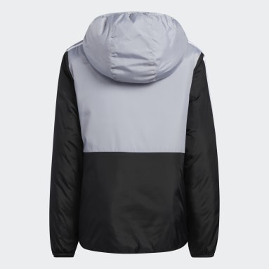 Youth Training Grey Colorblock Insulated Jacket