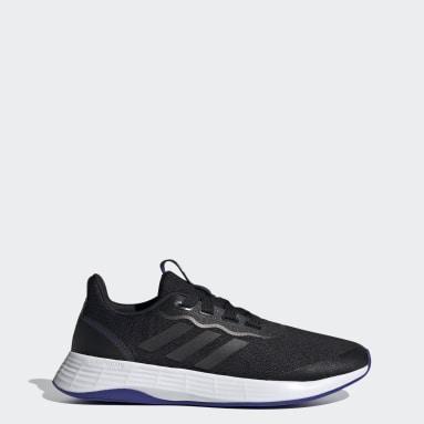 Women Running Black QT Racer Sport Shoes