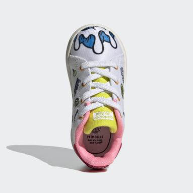 Infant & Toddler Originals White Stan Smith Primeblue Shoes