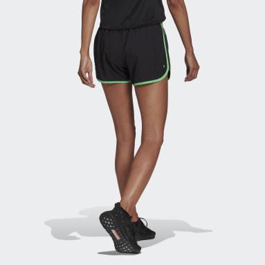ผู้หญิง วิ่ง สีดำ กางเกงขาสั้น Marathon 20
