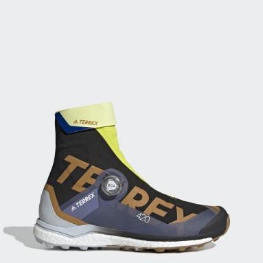 Muži TERREX čierna Tenisky Terrex Agravic Tech Pro Trail Running
