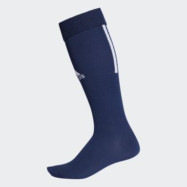 Soccer Blue Santos 18 Socks