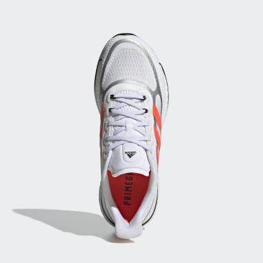 Tenis Supernova+ Blanco Mujer Running