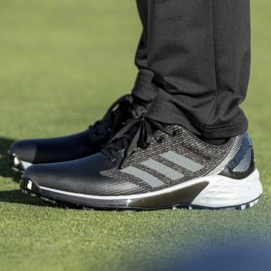 Zapatilla de golf ZG21 Motion Recycled Polyester Negro Hombre Golf