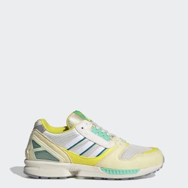 Originals Yellow ZX 8000 Frozen Lemonade Shoes