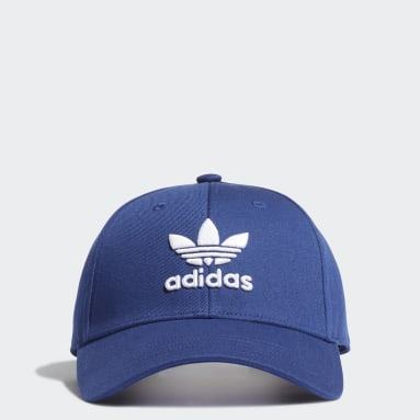 Boné Trefoil Azul Originals