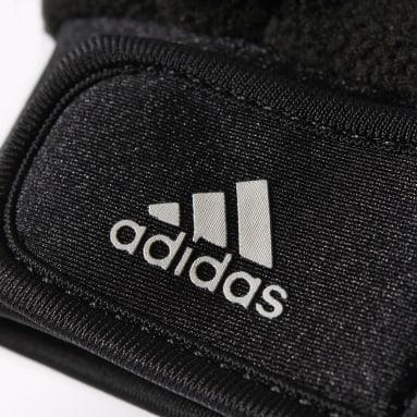 Football Black Fieldplayer Gloves