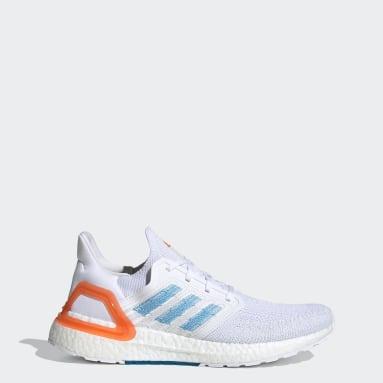 Men Running White Primeblue Ultraboost 20 Shoes