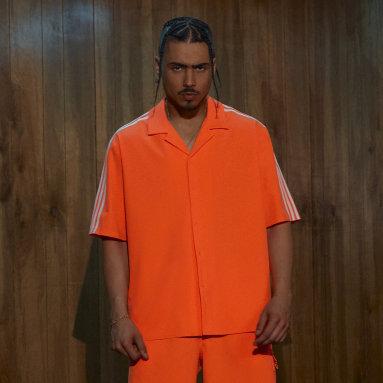 Men's Originals Orange Swim Cover-Up Shirt