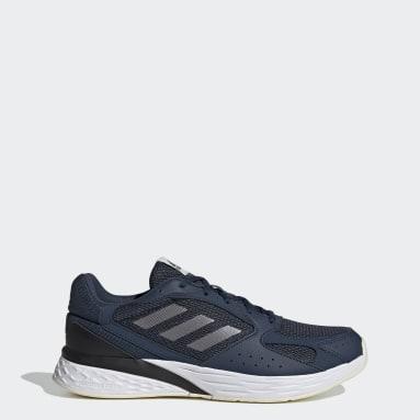 Men Running Blue Response Run Shoes