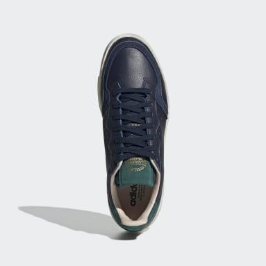 Chaussure Supercourt Bleu Femmes Originals