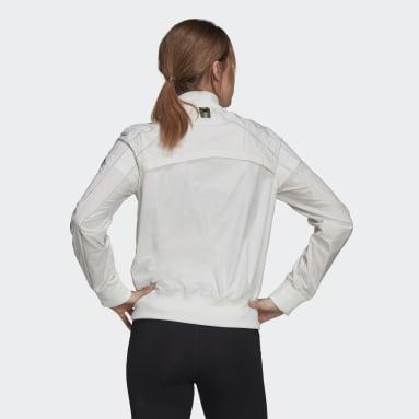 Casaco de Running Primeblue Marathon Branco Mulher Running