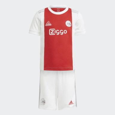 Ajax Amsterdam 21/22 Hjemmedrakt, mini Hvit