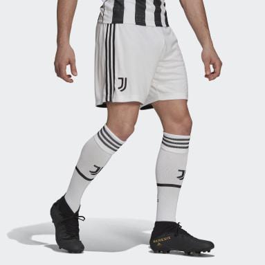 Fodbold Hvid Juventus 21/22 hjemmebaneshorts