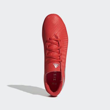 Calzado de Fútbol Nemeziz 19.4 Multiterreno Rojo Hombre Fútbol