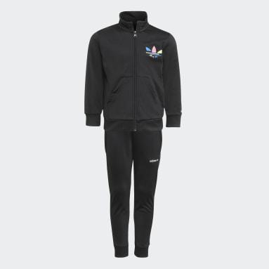 Kids Originals Black Adicolor Track Suit
