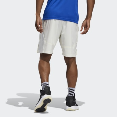 Men's Basketball White Jayhawks NCAA Swingman Shorts