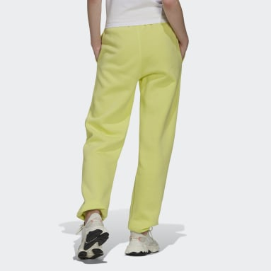 Pantaloni adicolor Essentials Fleece Joggers Giallo Donna Originals
