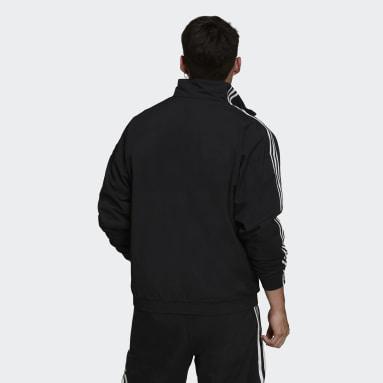 Mænd Originals Sort Adicolor Classics Lock-Up Trefoil træningsoverdel