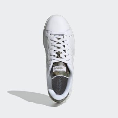 Sportswear wit Grand Court Schoenen